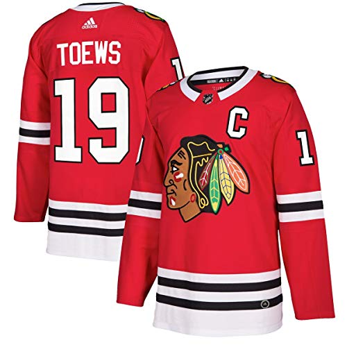 adidas Jonathan Toews Chicago Blackhawks NHL Men's Authentic Red Hockey Jersey