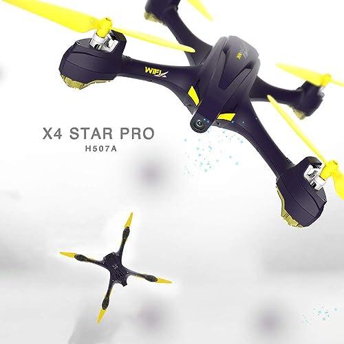 Hubsan H507A X4 Drone GPS 720P Caméra FPV WiFi Quadricoptère APP Contrôle avec émetteur HT009