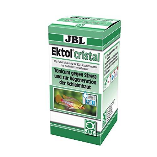 JBL Ektol cristal 1004100 Heilmittel gegen Stress für Aquarienfische, 80 g