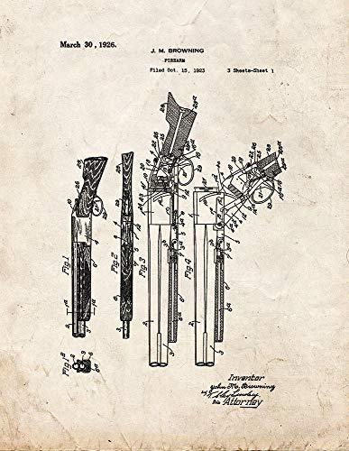 Browning M10490 - Impresión de escopeta superpuesta sobre o debajo de la escopeta