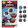 Spiderman Essbar Zucker Disc Kuchen Topper       X