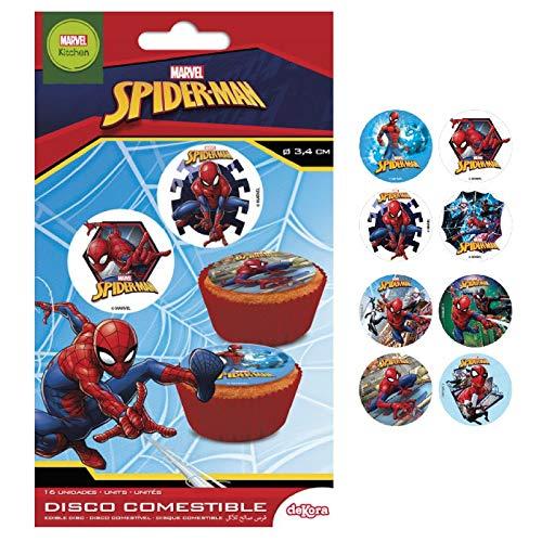 Spiderman Essbar Zucker Disc Kuchen Topper–X16