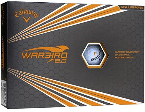 Personalized Callaway Warbird 2.0 Golf Balls (12 Dozen)