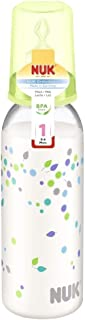 NUK Classic Baby's Milk Bottle Orthodontic 240ml Size 1 M 0-6 Months BPA Free