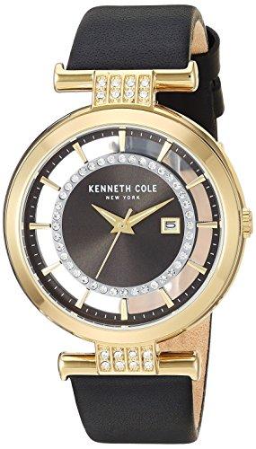 Reloj Kenneth Cole Fall Winter 2017 para Mujer 36mm, pulsera de Piel de Becerro