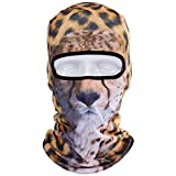 WTACTFUL Animal Balaclava Face Mask Breathable Wind Dust UV Helmet Liner Protection Skiing Snowboard Snowmobile Cycling Motorcycle Driving Riding Biking Fishing Hunting Music Festivals Halloween BNB02
