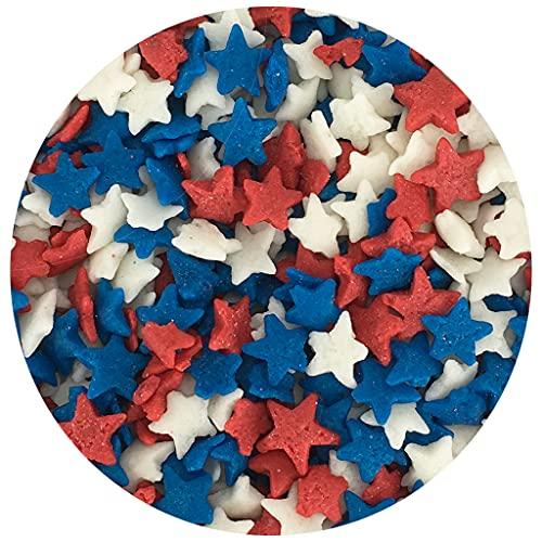 Patriotic Stars Edible Confetti
