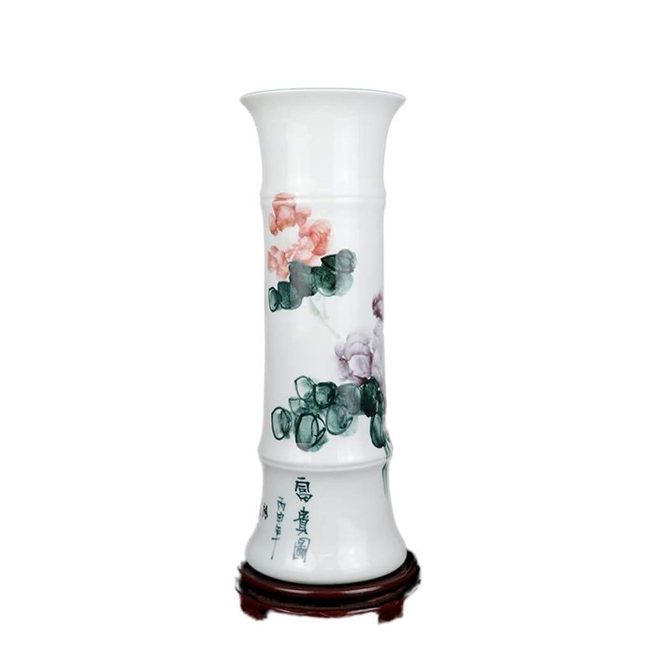 強化するデザート艦隊花瓶 花瓶磁器ボトルエレガントなデザインの白い家の装飾偽36.5cmX12.5cm (Color : C, Size : 36.5cmX12.5cm)