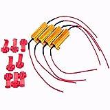 Carga Resistor, 4 piezas 50W 6 ohmios Load resistencias para el Indicador LED de SMD Corrección del Código de Error