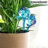 InnovaGoods Globos de Riego Automático Aqua·Loon (Pack de 2), Azul