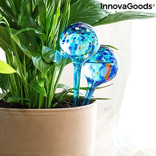 InnovaGoods Luftballons, automatisch, Aqua, Loon, 2 Stück, Blau