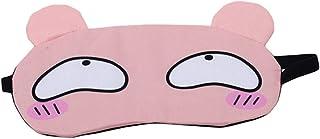 LALANG Spring Summer Cute Cartoon Travel Sleep Eye Mask Shade Cover(Pink)