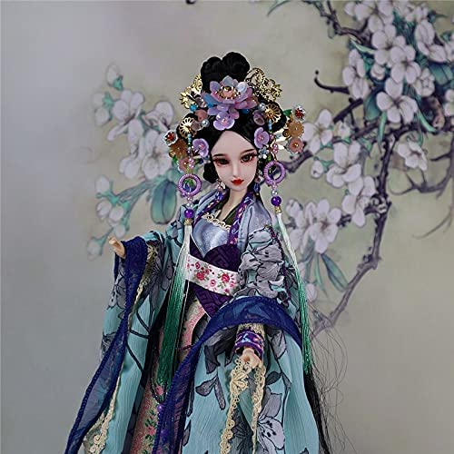 YMYY 1 6 Collectible Topics on TV Chinese Tang Costume Dolls Dynasty Ancient excellence