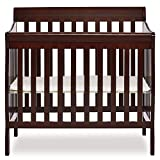 Dream On Me, Aden 4-in-1 Convertible Mini Crib, Espresso