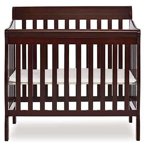 Dream On Me 4 in 1 Aden Convertible Mini Crib, Espresso