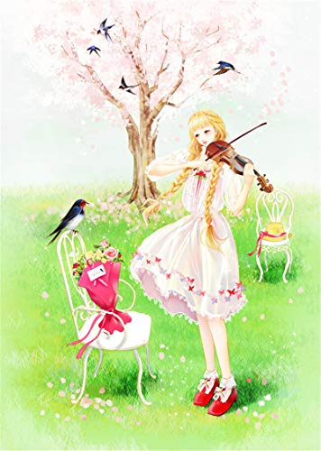 1000 Pcs Jigsaw Puzzle for Adults Kids Violin girl Puzzle Educational Toy the bestselling Jigsaw puzzle 50x75cm