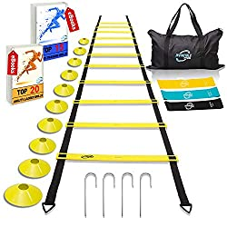 Agility Ladder for Soccer Skill Training