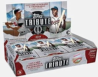 topps tribute baseball