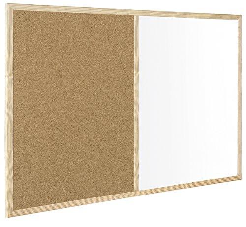 Bi-Office MX07001010 - Lavagna Combinata con Due Superficie, 900 x 600 cm, Bianco