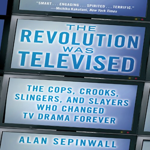 The Revolution Was Televised audiobook cover art