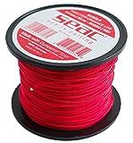 SEAC Dyneema 50m x Ø1.4mm, Rojo, línea de Pesca submarina, Unisex-Adult, 1.4 mm
