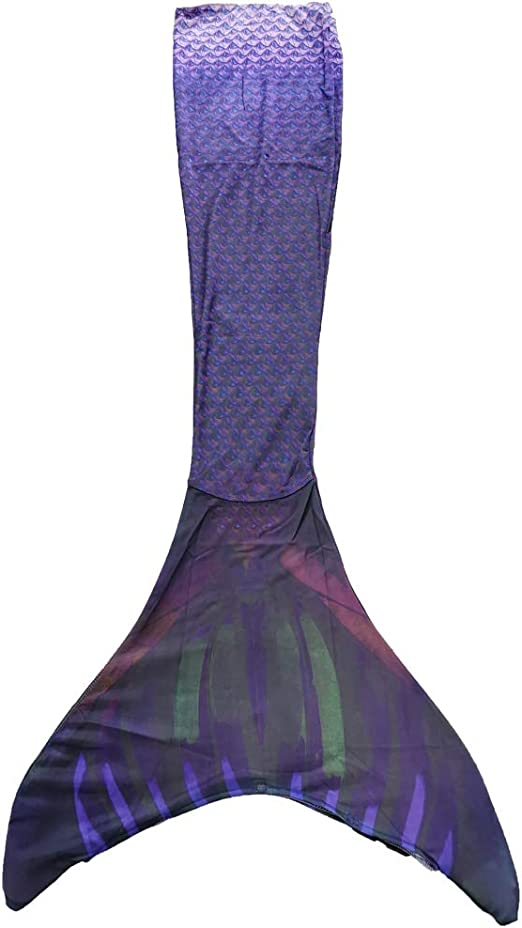 M/ädchen inkl Erwachsene Xyfushi Meerjungfrauen-Schwanz f/ür Kinder zum Schwimmen tragbar Monoflosse Frauen