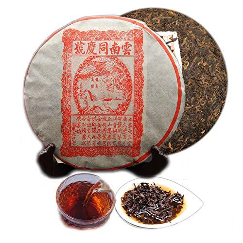 357g (0.787LB) Tè Pu'er maturo Tè vecchio Puer Tè Yunnan Tong Qing Hao Tè Puer Tè Tè nero cotto Tè Pu-erh Tè Pu Erh Tè cinese Tè Puerh sano Rosso Verde Buono Shu Cha