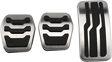 HCDSQSN Edelstahl Auto Interieur Gas Kraftstoff Pedal Bremspedale Abdeckung f/ür Ford Focus 2 3 4 MK2 MK3 MK4 2005-2018 Zubeh/ör