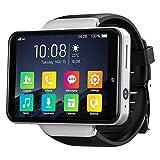ZHENAO Reloj Inteligente, Reloj Inteligente de 2.4 Pulgadas de 3Gb + 32Gb de Cara Amp; Patrón de Desbloqueo 2000Mah Cámaras Duales Ip67 Reloj Deportivo Impermeable Ratio Cardíaco pa