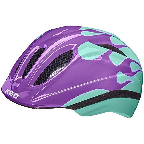 KED Meggy II Trend, casco per bambini Flame Lilac Mint circonferenza della testa XS | 44-49 cm 2021