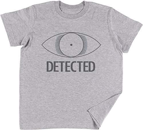 Vendax DetectedNiños Chicos Chicas Unisexo Camiseta Gris