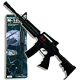 PARTY DISCOUNT Gewehr M16 mit Licht- und Soundeffekten