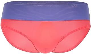 dff31d26aa HG8hgs Men Sexy Underwear Pure Color Boxer Briefs Shorts Bulge Pouch  Underpants