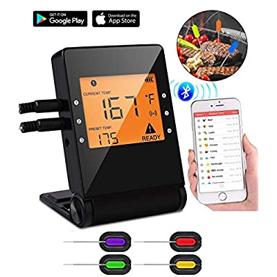 Yasmine Digital Meat thermometer for Grilling, ...