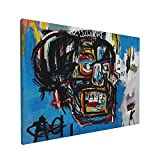 Untitled Skull Jean-Michel Basquiat Canvas Print Wall Art Print Poster For Office Home Decor...
