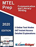 MTEL Communication and Literacy - Writing   (01) Certification Practice tests with detailed explanations. 5-Test Bundle with 185 Unique Test Questions