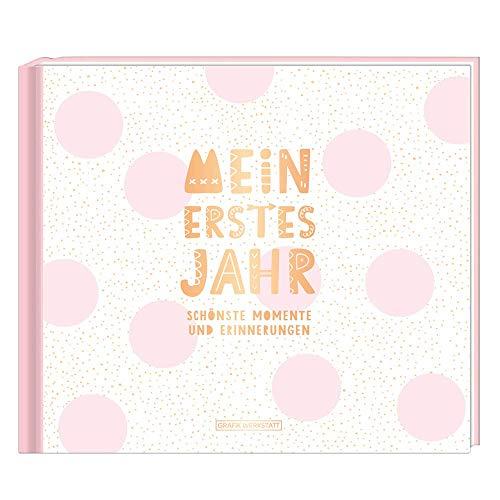 Mein erstes Jahr (Mädchen): Babyalbum: Babyalbum / SCHÖNSTE MOMENTE UND ERINNERUNGEN