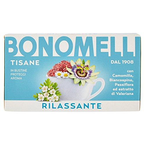 Bonomelli - Tisana, Rilassante - 12 confezioni da 16 filtri [192 filtri]