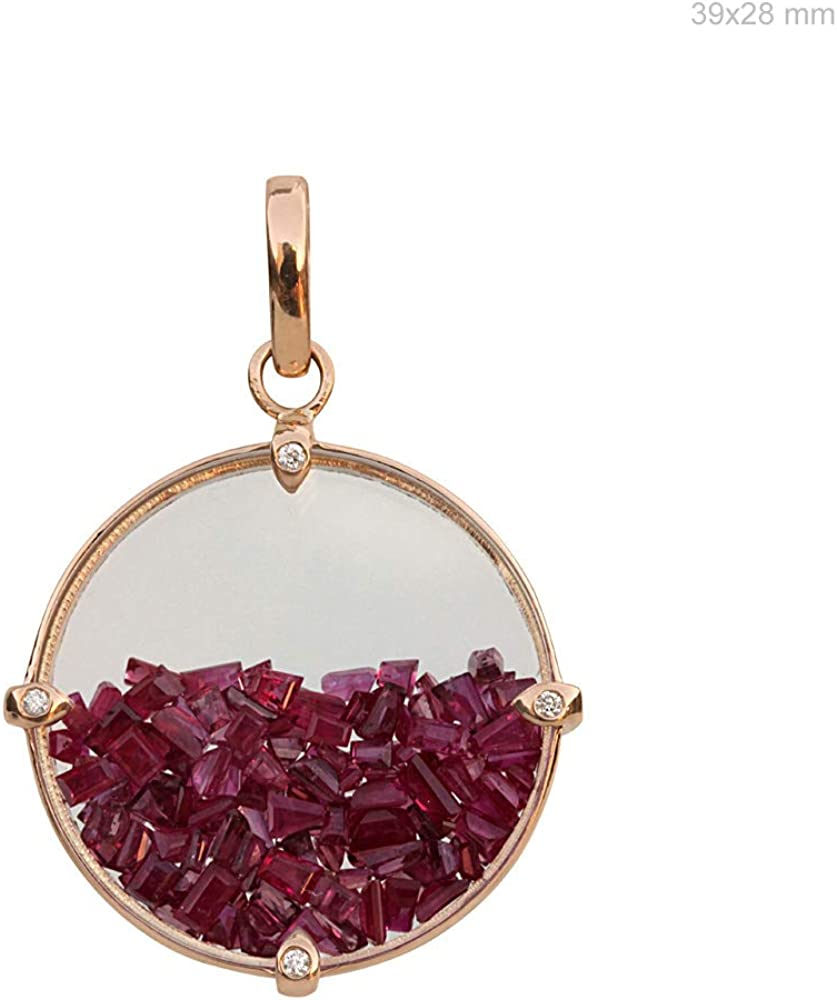 Spring new work one after another ASHNE JEWELS San Antonio Mall Natural Baguette Shape Quartz Gemston Ruby Crystal