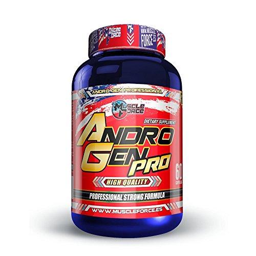 Muscle Force Andro Gen Pro XXL, potenciador Natural de la testosterona, Hormona del Crecimiento y IGF-1 (60)