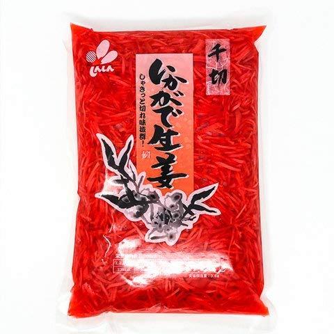 新進 いかがで生姜千切 1kg 【冷凍・冷蔵】 5個
