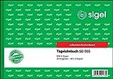 SIGEL SD065/5 - Cuaderno de salarios (A5, horizontal, 3 x 40 hojas, autocopiativo, 5 unidades)