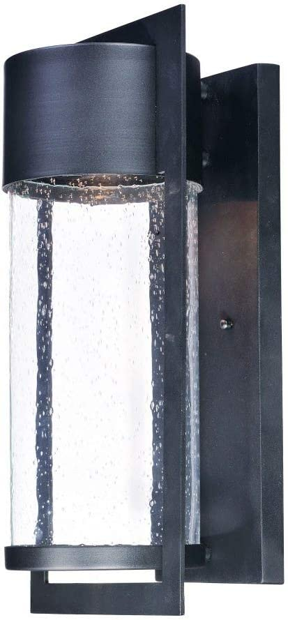 Maxim 55894BGBK Year-end annual account Special price Focus Modern Bubble LED Sconc Glass Wall Outdoor