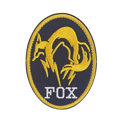 Cobra Tactical Solutions Military geborduurde patch XOF Foxhound Special Force Group Metal Gear Solid met klittenbandsluiting voor airsoft paintball voor tactische kleding rugzak