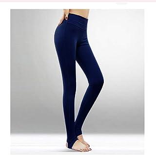 HXLG Women's Long Leggings Fitness Yoga Pants Sweatpants, Stretch Pants, Leggings Pants (Color : Blue, Size : S)