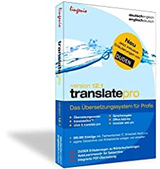 translate pro 12.1 Deutsch-Englisch: Das