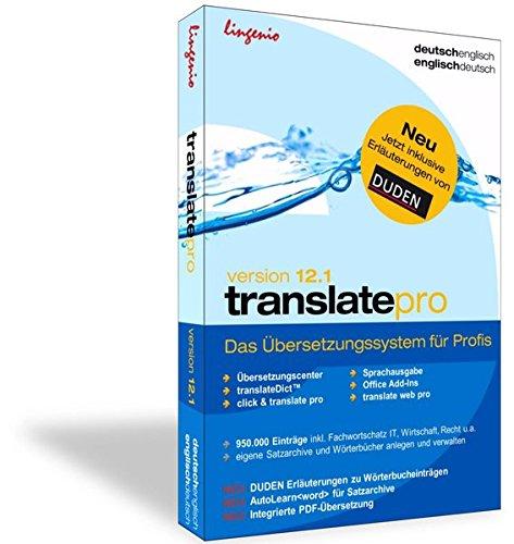 Lingenio GmbH translate pro 12.1 Deutsch-Englisch: Das Bild