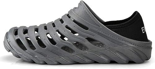 Femaroly Sandales d'extérieur d'extérieur d'extérieur pour Homme gris Taille 39 6d8