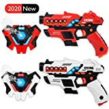 Linksky Laser Tag Guns for Kids, Laser Gun Game Vests Set of 2