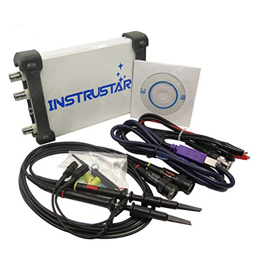 INSTRUSTAR ISDS205B PC Base USB/Analizador de espectro/DDS/Sweep/Grabadora de datos/Osciloscopio digital